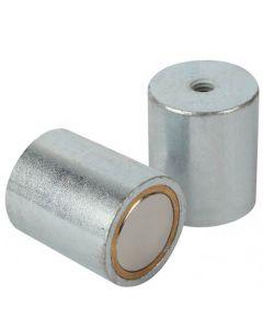 Stabgreifer Haltemagnet Neodym (NdFeB) mit Innengewinde, Ø 6 - 63mm - bis 170kg