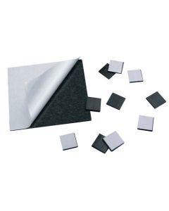 100 Takkis / Magnetplättchen selbstklebend 11mm x 25mm x 1,5mm