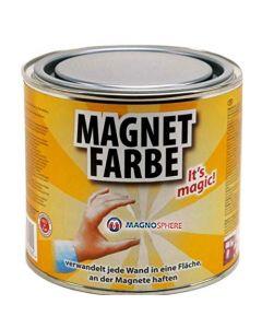 Magnetfarbe - Magnetische wandfarbe - 5 Liter - für eine Fläche von 10m² - 40m²