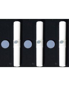 Magnethalter für Kreide, Kunststoff-Manschette, Länge 9 cm, Ø 1,2 cm, 3er Set