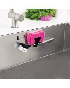 Magnet-Halter für Bürste oder Schwamm, Länge 6,5 cm, Tiefe 2,5 cm