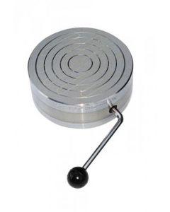Magnetspannfutter - ein-/ausschaltbar Ø 121 - 305 mm - Haftkraft 80 N/cm2