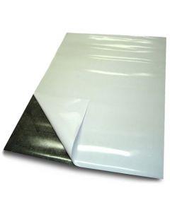 Magnetfolie selbstklebend DIN A Formate (A1-A4) anisotrop braun - Stärke: 0,5mm