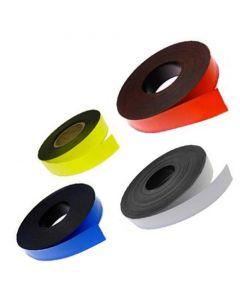 Magnetband Magnetstreifen farbig - Breite 30mm - 5m Rolle - Kennzeichnungsband