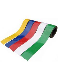 Magnetband Magnetstreifen farbig - Breite 50mm - 5m Rolle - Kennzeichnungsband