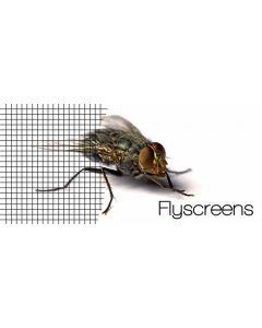 Fliegennetz, Fliegengitter Insektenschutz, Fiberglas anthrazit, Meterware