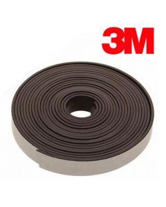Magnetband Magnetstreifen selbstklebend mit 3M Kleber 2mm x 15mm x 1m, Meterware