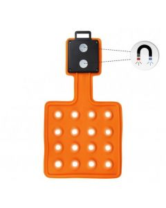 LED Magnet-Leuchte Magnet-Lampe flexibel mit Magneten | 16 LED's - Flexi-Pad