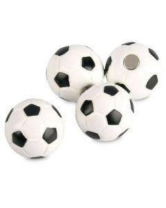 4 x Kühlschrankmagnete Fußball Ø 22mm Magnete für Pinnwand Magnettafel