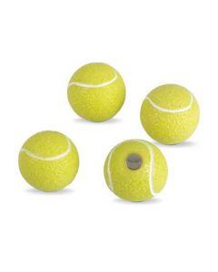 4 x Kühlschrankmagnete Tennis Ø 22mm Magnete für Pinnwand Magnettafel