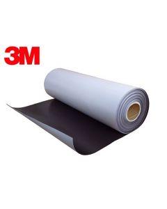 Power-Magnetfolie selbstklebend NEODYM mit 3M Kleber 0,5mm x  30cm x 100cm