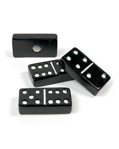 4 x Kühlschrankmagnete Domino 30x15x7mm Magnete für Pinnwand Magnettafel