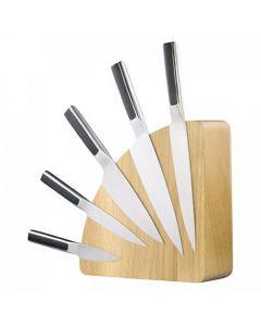 Magnet Messerblock Holz,