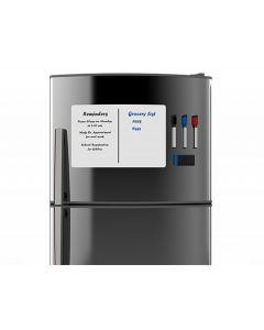 Magnetfolie Whiteboardfolie magnetisch für Kühlschrank weiß beschreibbar 40x30cm