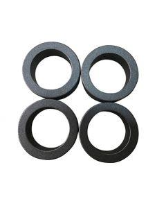 Ringmagnet / Magnetring Ø 35/24 x 10 mm Neodym N38, Teflon-Beschichtung