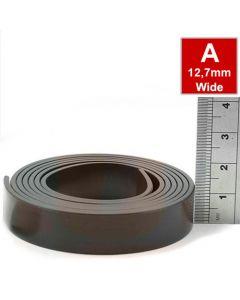 Magnetband Magnetstreifen selbstklebend 1,5mm x 12,7mm x 30m, Typ A, anisotrop