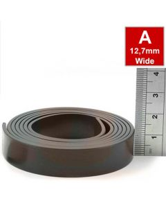 Magnetband Magnetstreifen selbstklebend 1,5mm x 12,7mm x 10m, Typ A, anisotrop