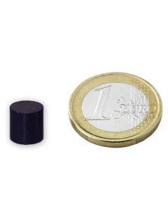 Scheibenmagnet Rundmagnet Ø 10 x 10mm Ferrit Y35 - hält 400g - Keramik-Magnet