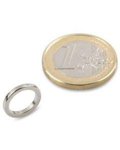 Ringmagnet Magnetring Ø 12/9 x 1,5 mm Neodym N50, Nickel - Haftkraft 1,5 kg