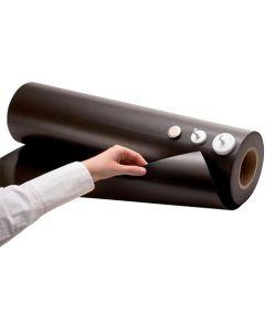 Eisenfolie Ferrofolie unbeschichtet roh braun 0,4mm x  62cm x 1m - Meterware