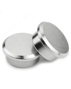Pinnwand Magnet Memomagnet aus Stahl - Ø 22 mm Neodym (NdFeB) - Haftkraft 10 kg