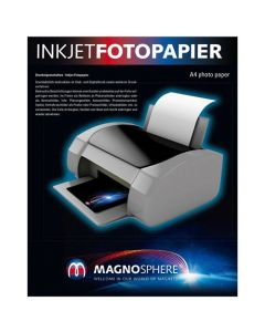 A4 Fotopapier magnetisch Magnetpapier weiß matt – für Inkjet