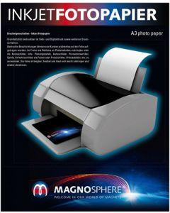 A3 Fotopapier magnetisch Magnetpapier weiß matt – für Inkjet