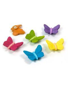 6 x Kühlschrankmagnete Butterfly 28mm Magnete für Pinnwand Magnettafel
