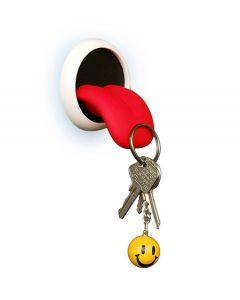 Magnetischer Schlüsselhalter ZUNGE - mit extra-starken Magneten