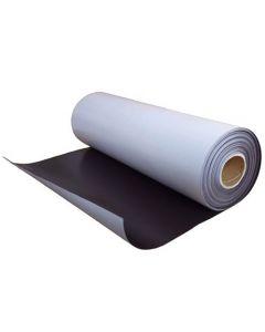 Magnetfolie / Magnetstreifen selbstklebend roh braun 0,9mm x  12cm x 100cm