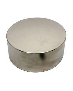 Scheibenmagnet / Rundmagnet Ø120x50mm – Neodym N45 (NdFeB) Nickel - hält 750kg