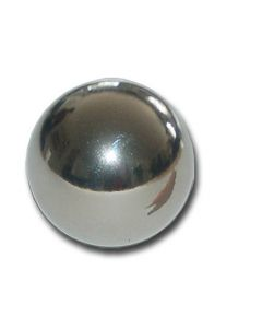 Magnetkugel / Kugelmagnet Ø 30 mm Neodym N40 (NdFeB) Chrom - Haftkraft 12,9 kg