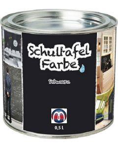 Tafelfarbe / Schultafel-Lack 0,5 L Dose - Tafel-Lack Wandtafelfarbe Kreidefarbe