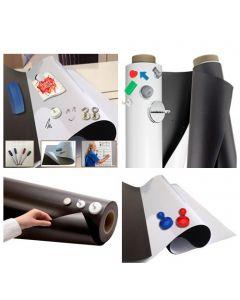 Eisenfolie Ferrofolie - 0,6mm - Material & Größe nach Auswahl - roh braun, weiß
