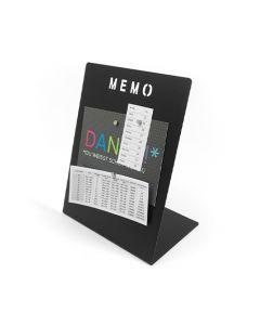 Magnettafel, Memoboard, mit Marker beschreibbar 180 x 120 x 235mm inkl. Magnete