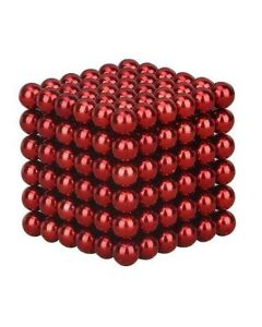 Neocube Rot Ø 5mm Magnetkugeln Neodym, 216 Stück im Set