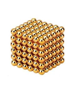 Neocube Gold Ø 5mm Magnetkugeln Neodym, 216 Stück im Set