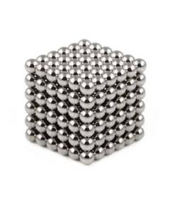 Neocube Silber Ø 5mm Magnetkugeln Neodym, 216 Stück im Set