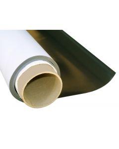 Magnetfolie weiß matt beschichtet - 2mm x 50cm x 50cm - magnetische Folie