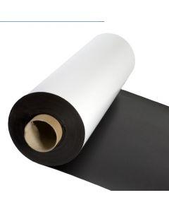 Magnetfolie weiß matt beschichtet 0,3mm x 100cm x 150cm