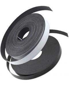 Magnetband selbstklebend Typ A + B, 1,5 mm x (25,4mm + 12,7mm) x  0,5m