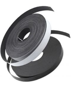 Magnetband selbstklebend Typ A + B, 1,5 mm x (25,4mm + 12,7mm) x  2m