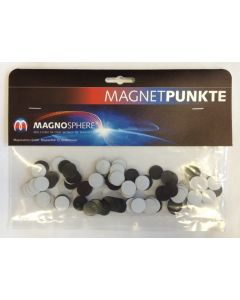100 Takkis, Magnetplättchen selbstklebend Ø 16mm x 0,9mm
