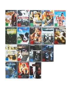 Edelstahl DVD Wandregal magnetisch | Square 5x4-20 | 60 cm x 60 cm | 3,8kg