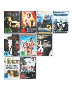 Edelstahl DVD Wandregal magnetisch | Square 4x3-12 | 36 cm x 36 cm | 1,4kg