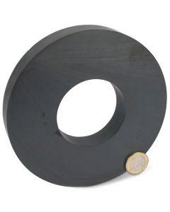 Ringmagnet Magnetring Ø 140 x 63 x 17mm Ferrit Y30 - hält 19 kg - Keramik-Magnet