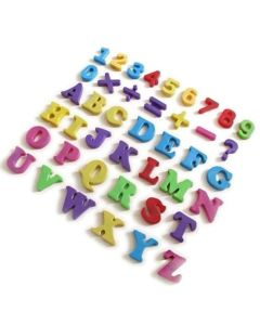 Magnetzahlen & Zeichen Magnet - 5cm hoch 62 Zahlen und 18 Zeichen