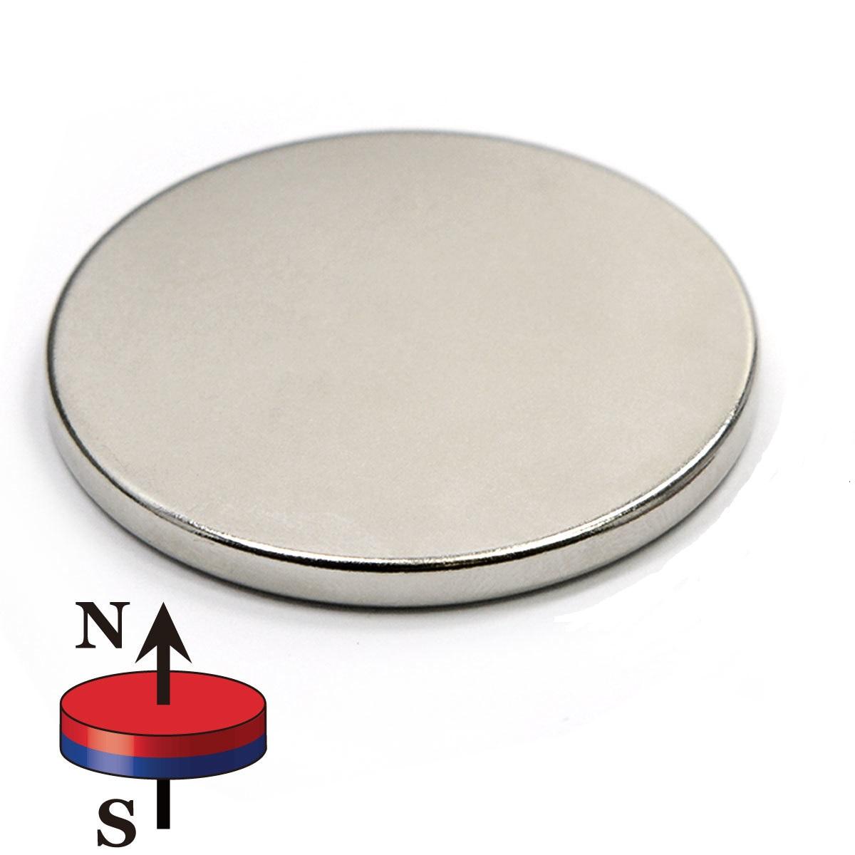 Scheibenmagnet (Magnetscheiben) / Rundmagnet Neodym