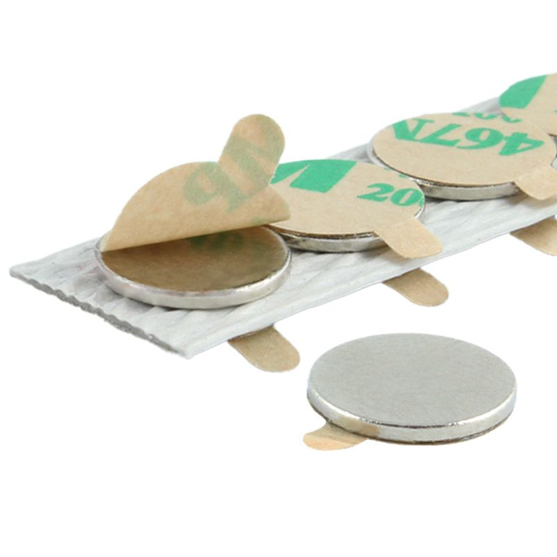 Klebemagnete / selbstklebende Magnete aus Neodym